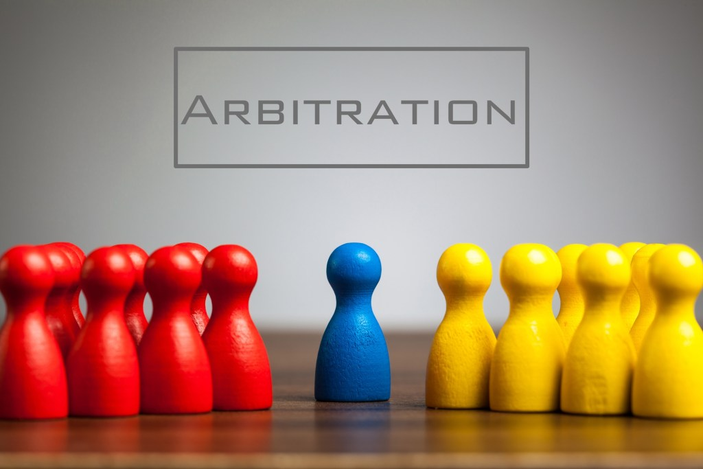 Arbitrators are able to exercise their conscience in decision-making similar to judges' powers in equity.
