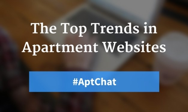 The Top Trends in Apartment Websites