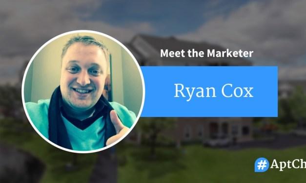 Meet The Marketer: Ryan Cox