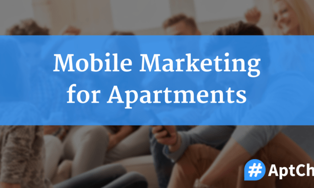 Mobile Marketing for Apartments