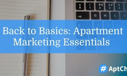 Back to Basics: Apartment Marketing Essentials