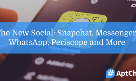 The New Social: Snapchat, Messenger, WhatsApp, Periscope and More