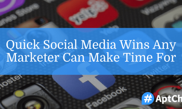 Quick Social Media Wins Any Marketer Can Make Time For