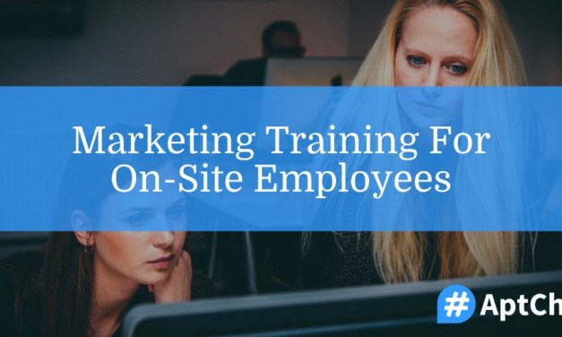 Marketing Training for On-Site Employees