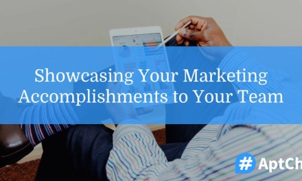 Showcasing Your Marketing Accomplishments to Your Team