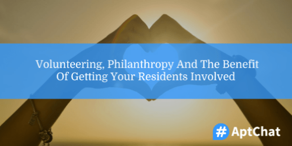 volunteering, philanthropy, and staff and resident participation