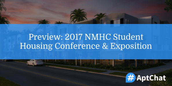 Preview: 2017 NMHC Student Housing Conference & Exposition