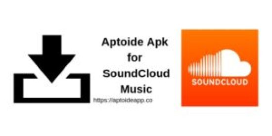 Aptoide Apk for SoundCloud Music