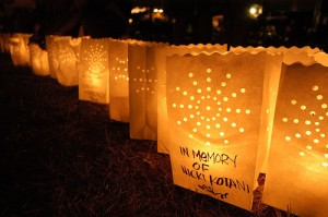Relay for Life Luminaria Bags