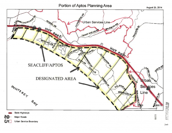 Seacliff Aptos Designated Area