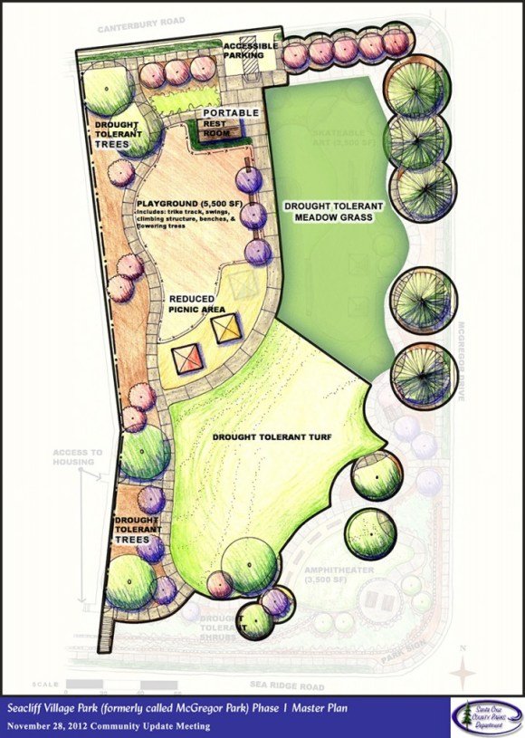Seacliff Village Park Plan