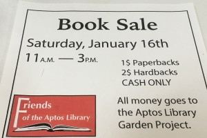 Aptos Library Book Sale