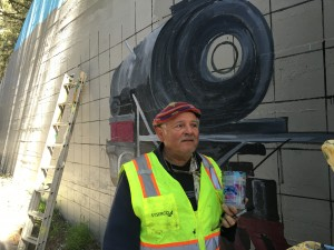 Art Thomae and the Mural