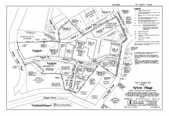 Aptos Village Final Map - Phase 1