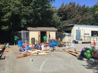 Organizing the Storage Shed