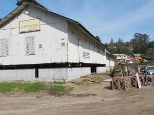 Aptos Apple Barn Reaches Final Location