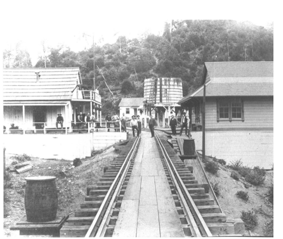 The Santa Cruz Rail Road, Built by Giants