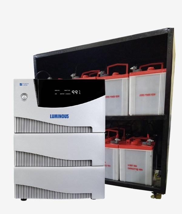 Luminous-Cruze-5.2KVA-Home-UPS-IPS-Full-Set-With-Battery-Trolley