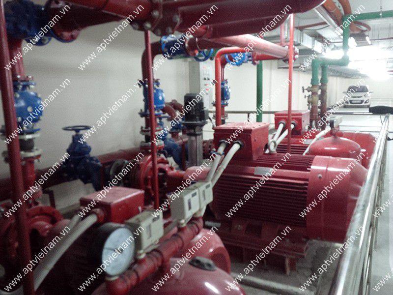 Bơm cứu hỏa bộ la động 2