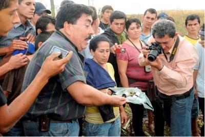 Julio Colman e os cascos de balas 5,56