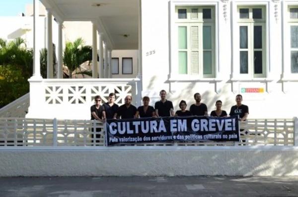 A greve dos sevidores da cultura durou um mês e foi considerada ilegal pela Justiça, a pedido a AGU