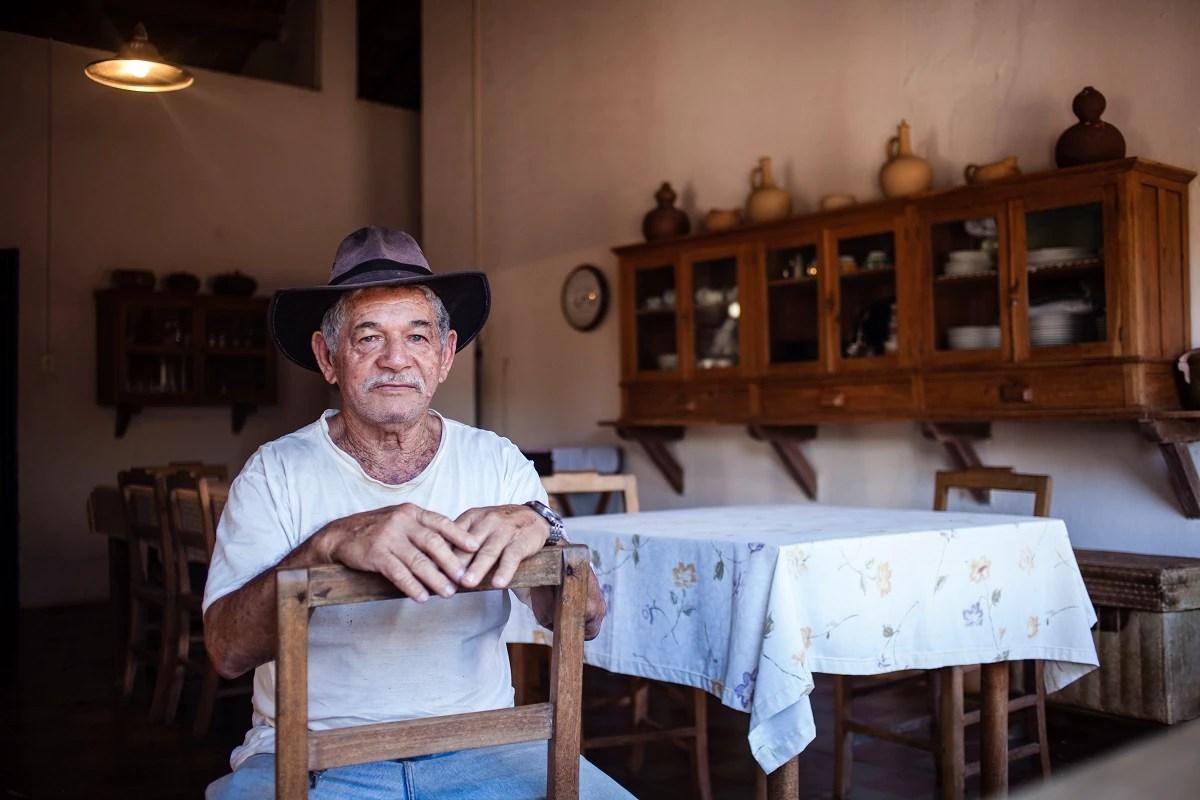 Manuel Dias Tavares, 72 (Foto: Marília Camelo)