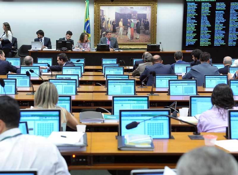 Reunião da CCJ da Câmara em que foi aprovado o substitutivo do PL Espião.