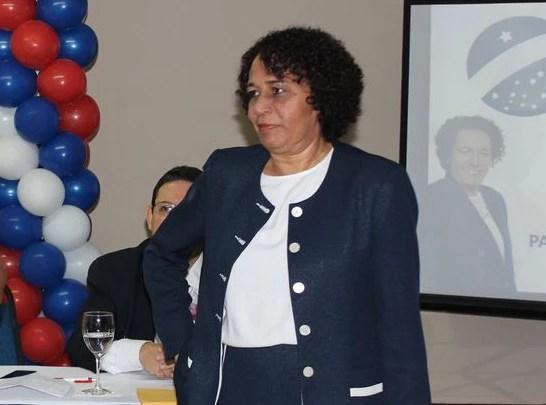 Suêd Haidar, presidente do recém-criado Partido da Mulher Brasileira (PMB)