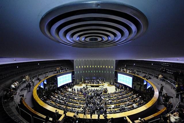 Plenário do Congresso Nacional, em 2015