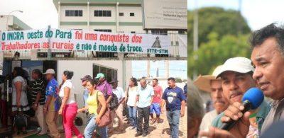 Movimentos ocupam a sede da SR-30 em protesto contra a exoneração de Chalito (Foto: Ascom/Terra de Direitos)
