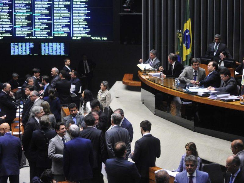 Discussão de medidas provisórias na Câmara, no dia 22 de agosto