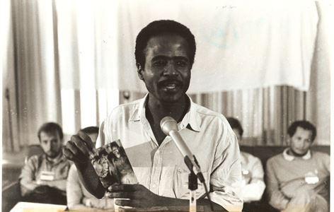 Expedito Ribeiro, ex-presidente do Sindicato dos Trabalhadores Rurais de Rio Maria, Sul do Pará (Reprodução/Portal Vermelho)