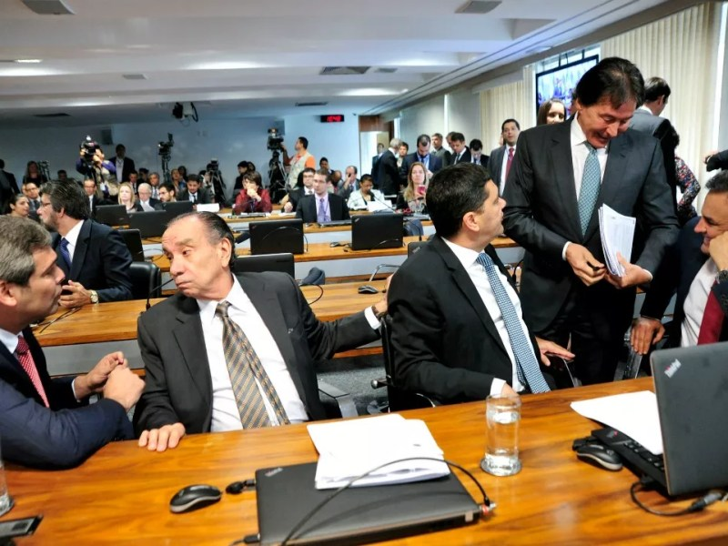 Reunião da CCJ do Senado analisa a PEC 55/2016