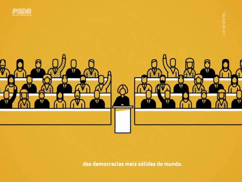 Programa político do PSDB, que defendeu o parlamentarismo