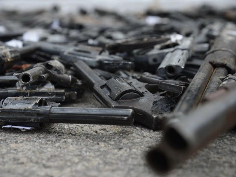 Polícia Federal e Exército realizam procedimento de destruição de 4 mil armas recolhidas pela PF nos últimos dois anos