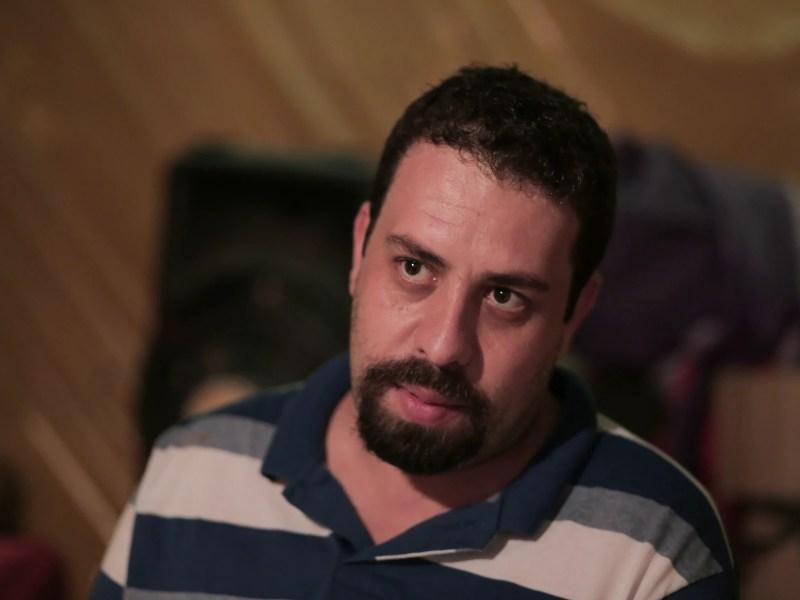 O coordenador do MTST, Guilherme Boulos, que participou de uma sabatina no Twitter