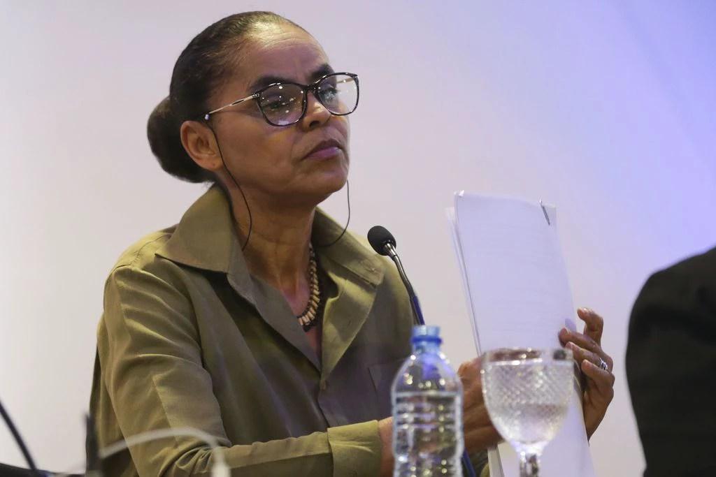 A candidata à Presidência Marina Silva (REDE), em debate: dado citado em programa registrado no TSE é estimativa, não confirmada por estudos