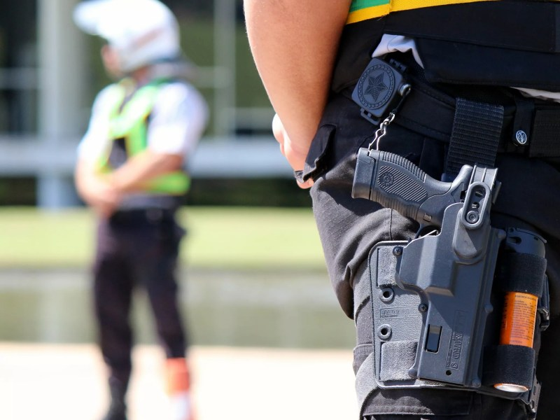 Policiais militares do Distrito Federal: todas as unidades da Federação tiveram aumento de efetivo nos últimos 10 anos