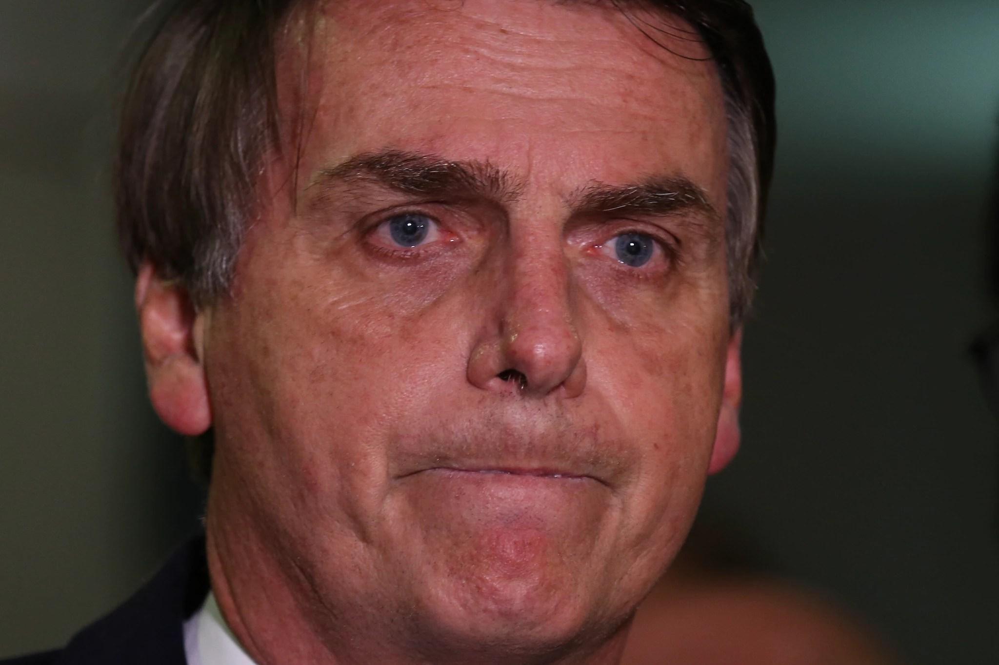 O deputado federal Jair Bolsonaro (PSL) fez afirmação falsa sobre o envolvimento de Fernando Haddad em produção de material contra homofobia