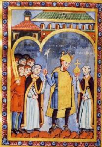 Hendrik III en bisschoppen