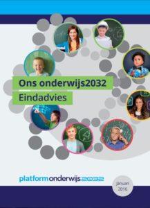 eindadvies onderwijs 2032