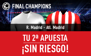 apuestas legales Final Champions Real Madrid - Atlético de Madrid