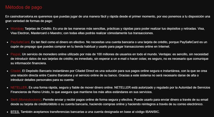 Casino barcelona online opiniones casino porto carras