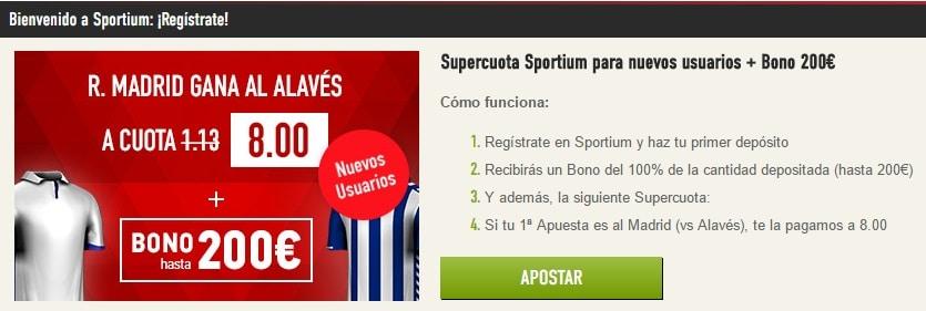 Sportium supercuota