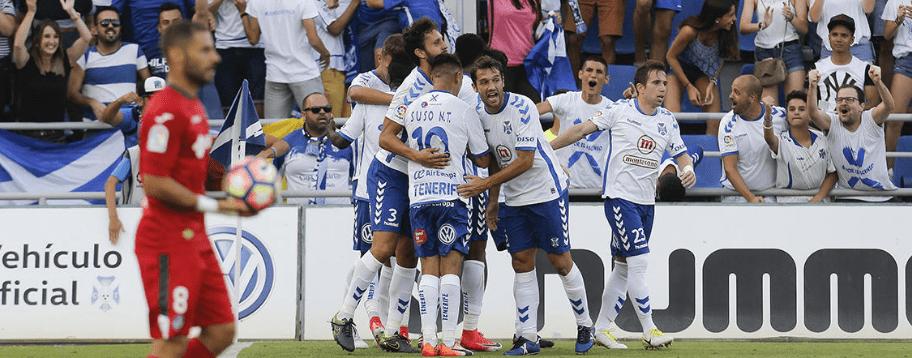 Apuestas Getafe vs Tenerife, playoffTenerife favorito para estar en primera tras el partido de ida