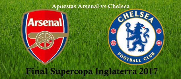 Apuestas Supercopa Inglaterra 2017Arsenal vs Chelsea buscarán el primer título de esta temporada