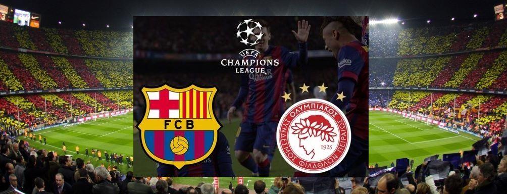 Barcelona-Olympiakos: la mejor apuestaEl over de goles cobra importancia en este partido
