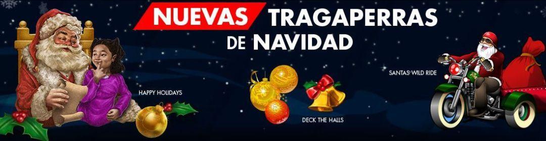 Nuevas tragaperras de Navidad en Suertia3 slots más ofrece Suertia, éstas con temática de Navidad