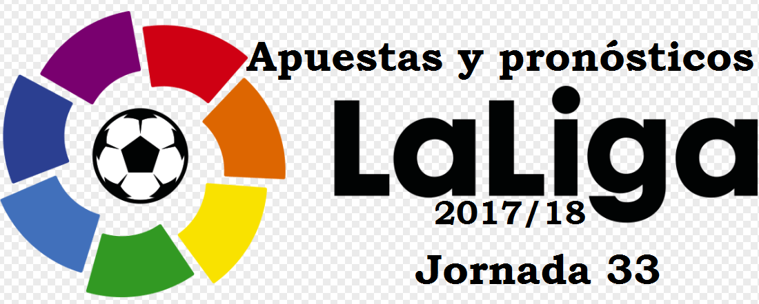 Apuestas jornada 33 Liga 2018
