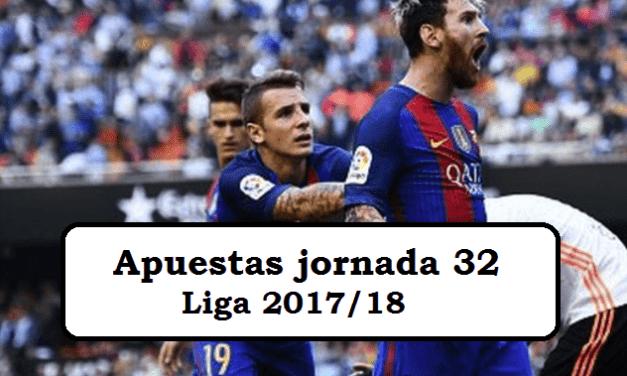 5 pronósticos para la jornada 32 de la Liga 2017/18